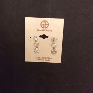 GIANI BERNINI DROP EARRINGS NWT